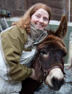 Equine Assisted Therapy can also help with grief. Donkeys are very intuitive and can help the healing process. www.HealingForGrievingHearts.com