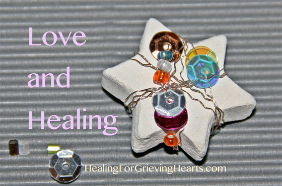 Love and Healing for a blessed Holiday Season from HealingForGrievingHearts.com
