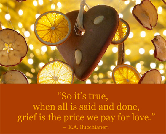 Love and grief are deeply connected. HealingForGrievingHeart.com